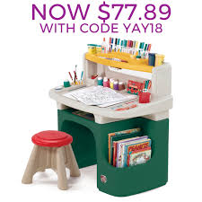 Step2 Furniture Toys by Step2 Art Master Activity Desk 100 Images Deluxe Activity