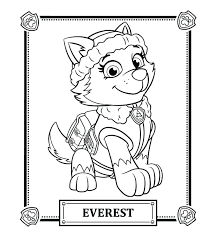 Paw Patrol Coloring Sheets Pictures Plus Free Pages Printable Colouring Tra