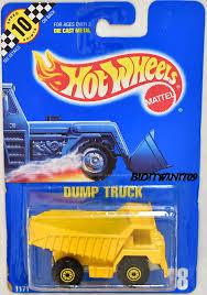 100 Blue Dump Truck HOT WHEELS 1990 BLUE CARD DUMP TRUCK 18 W METAL DUMP E 0002346