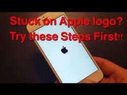 STUCK ON APPLE LOGO IPHONES IPADS IPODS