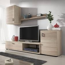 mirjan24 wohnwand lia praktische anbauwand schrankwand hängeschrank tv lowboard wandregal stilvoll wohnzimmer set sonoma eiche