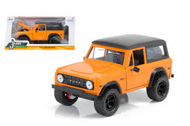 NEW 1:24 W/B JADA TOYS JUST TRUCKS COLLECTION - ORANGE 1973 FORD ...
