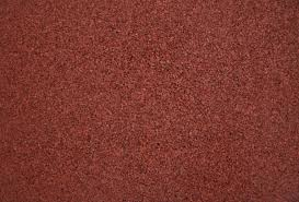 Red Rubber Surface