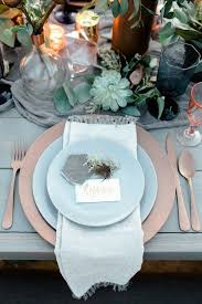 Top 20 Dusty Blue and Copper Wedding Color Ideas
