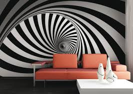 Wall Mural Wallpaper Grafic Retro 3D Design Burble Photo 360 Cm X