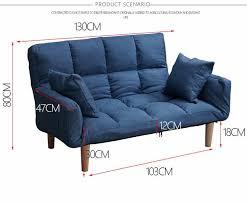 russland boden sofa bett mit 2 kissen 5 position einstellbar faul sofa möbel wohnzimmer liege klapp sofa