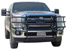 2011-2016 Ford F250 & F350 Ranch Hand Legend Grille Guard GGF111BL1 About Us Frontier Truck Gear Black Grille Guard Amazoncom Westin 572505 Hdx Automotive F150 Brush Tough Country Bumpers How To Install A Luverne Grill Youtube Winch Mount 5793835 1518 F Deer For Dee Zee Guards And Push In Gonzales La Kgpin Autosports M1009 Or Cucv Brush Guard On Gmt400 The Ultimate 8898 Ranch Hand Accsories Protect Your