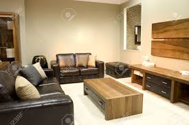 Warm Colors For A Living Room by Modern Living Room With Warm Colors Two Big Sofas And A Coffee