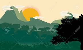 100 Minimalist Landscape Beautiful Minimalist Landscape Design With Tree Silhouette In