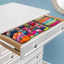 Desk Drawer Organizer Amazon by Amazon Com Sorbus Set Of 4 Foldable Drawer Dividers Storage