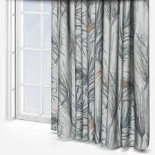 Casadeco Tissus Costa Rica Tropical Turquoise Curtain Custom Curtains