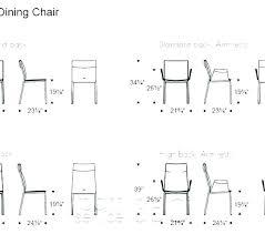 Dimension Of Dining Table Standard Dimensions Width Measurements Minimum