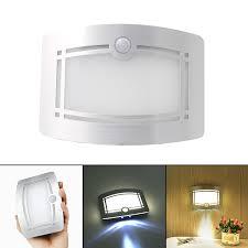 light with motion sensor led wireless wall l auto