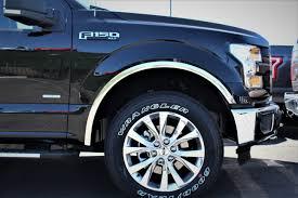 100 Truck Trim 15 16 17 F150 F150 TRUCK CHROME WHEEL WELL FENDER FLARE MOLDING
