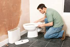 Tiling A Bathroom Floor Around A Toilet by Moving A Toilet One Way To Do It