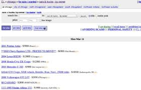 100 Craigslist Cars Trucks Chicago A Prospective Car Buyer Lost 5000 His Cell Phone His Sneakers