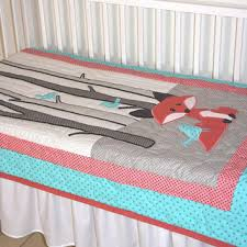 Teal And Coral Baby Bedding by Shop Coral Crib Bedding On Wanelo