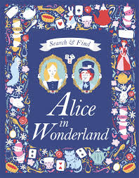 100 Munoz Studio Search And Find Alice In Wonderland A Lewis Carroll Search