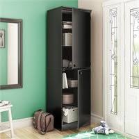 south shore narrow storage cabinet south shore park 2 door storage cabinet in royal cherry finish