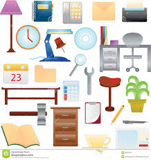 Furniture clipart household material Pencil and in color