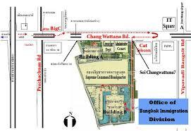 adresse du bureau d immigration à bangkok forum thaïlande