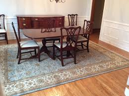 Oriental Rugs For Living Room Dining Decorating Project In Newtown PA Traditional