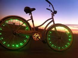 Glowmatic LED Bike Lights i want these for my bike night