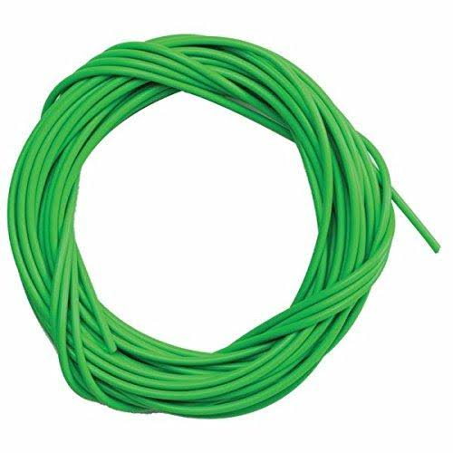 Sunlite Lined Brake Cable Housing - 5mm X 50ft, Green