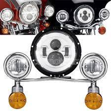 Harley Davidson Light Bar by Motorcycle Headlight Assemblies For Harley Davidson Fat Boy Ebay