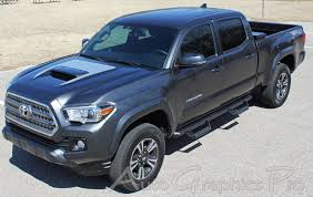 2015-2019 Toyota Tacoma Hood Decal SPORT HOOD Hood Wrap TRD Sport ... Preowned 2017 Toyota Tacoma Trd Sport Crew Cab Pickup In Lexington 2wd San Truck Waukesha 23557a 2018 Charlotte Xr5351 Used With Lift Kit 4 Door New 2019 4wd Boston Gloucester Grande Prairie Alberta Sport 35l V6 4x4 Double Certified 2016 Escondido