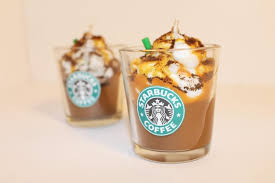 STARBUCKS CARAMEL CAPPUCCINO Candle Coffee Scented Wax