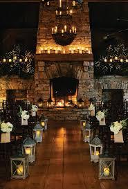 Candlelit Ceremony Room Hygge Winter Wedding Ideas Winterwedding