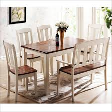 Perfect Dining Table Set With Bench Kitchen Tables Benches Room Chairs Shop The