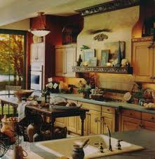 Country Kitchen Themes Ideas by Kitchen Amazing L Shape Retro Country Kitchen Decoration Design