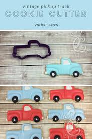 Vintage Pickup Truck Cookie Cutter And Fondant Cutter And Clay ... Truck Cookie Cutter Fire 5 Inch Coated By Global Sugar Art Amazoncom Grandpas Old Farm Pickup Kitchen Cutters Jb Custom Exclusive How To Make Ice Cream Cookies Semi Sweet Designs Dump Arbi Design Cookiecutz Food 375 In Experts Since 1993 Truck And Products Set The Shop Little Blue Cnection