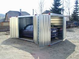 Storage Container In Car Port Modification