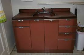 how old is this metal cabinet and kitchen sink retro renovation