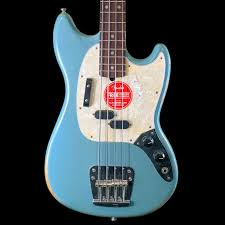 Fender Justin Meldal Johnsen Road Worn Mustang Electric Bass Faded