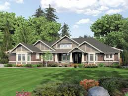 Craftsman Style House Plans Ranch by 204 Best House Plans Images On Pinterest Architecture Facades
