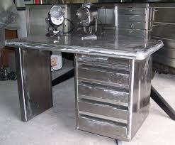 bureau m騁allique industriel bureau metal brosser industriel meuble metier le de l