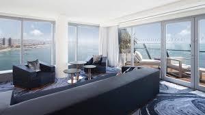 100 W Hotel Barcelona Spain Black Platinum Gold