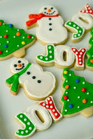 Decorated Holiday Sugar Cookies Recipe Dishmaps Christmas