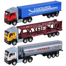 100 Toy Farm Trucks And Trailers Hot Sale150 Scale Truck Tractor Model Platform Truck Holland Tractors Alloy Trailer Kids S Cars Transporter
