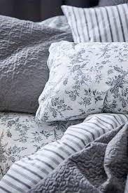 möbel wohnen ikea alvine kvist duvet cover set gray white