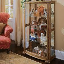Corner Curio Cabinet Walmart by Furniture Stunning Curio Cabinet For Modern Home Furniture Ideas