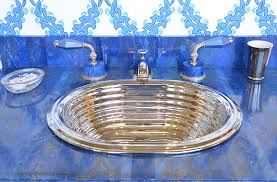 Sherle Wagner Italy Sink by Sherle Wagner For Luxury Bath