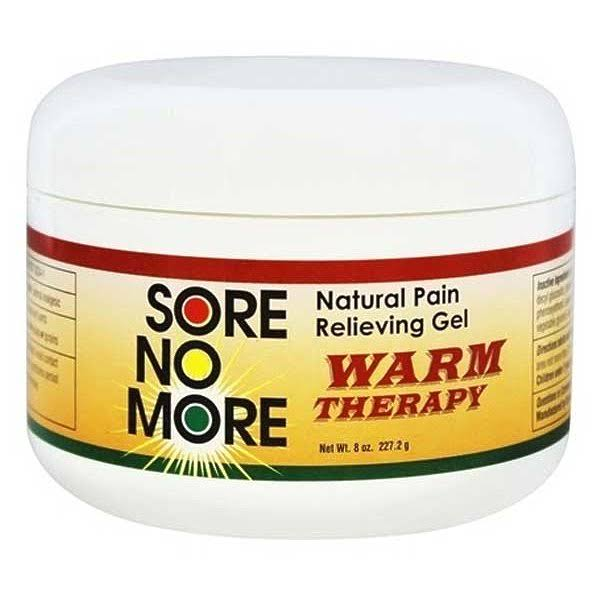 Sombra Cosmetics Sore No More Warm Therapy Natural Pain Relieving Gel - 8 Oz