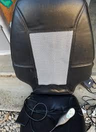 Massage Chair Pad Homedics by Homedics Sbm 200 Shiatsu Back Massaging Chair Cushion Works Well