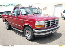 1995 Ford F150 XL Regular Cab In Electric Currant Red Pearl - B53523 ... 1995 Ford F350 Xlt Diesel Lifted Truck For Sale Youtube Someone Has Done A Beautiful Job Customizing This F800 Used Trucks In Md Best Image Kusaboshicom F150 Best Image Gallery 916 Share And Download Pin By Micah Wahlquist On Obs Ford Pinterest Rims 79 Enthusiasts Forums Xlt Shortbed 50l Auto La West 4x4 Old Rides 5 Vehicle Lmc 1985 Resource Lightning Custom Vintage Truck Pitts Toyota 302 50 Rebuild