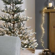 Artificial Christmas Tree 6ft by Pre Lit Green Snow Effect Real Feel Pe Imperial Spruce Artificial